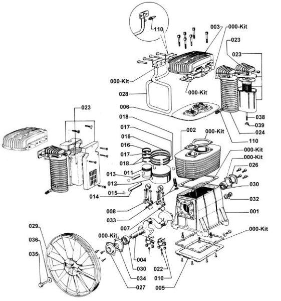 Abac Air Pumps Aluminum